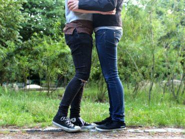 lesbisches Pärchen