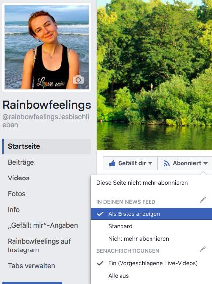 Unterstütze Rainbowfeelings, Rainbowfeelings, lesbisch lieben, Lesbenblog, lesben