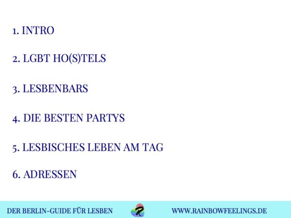Lesben Berlin, Lesben Berlin Guide, lesbisch in Berlin Rainbowfeelings