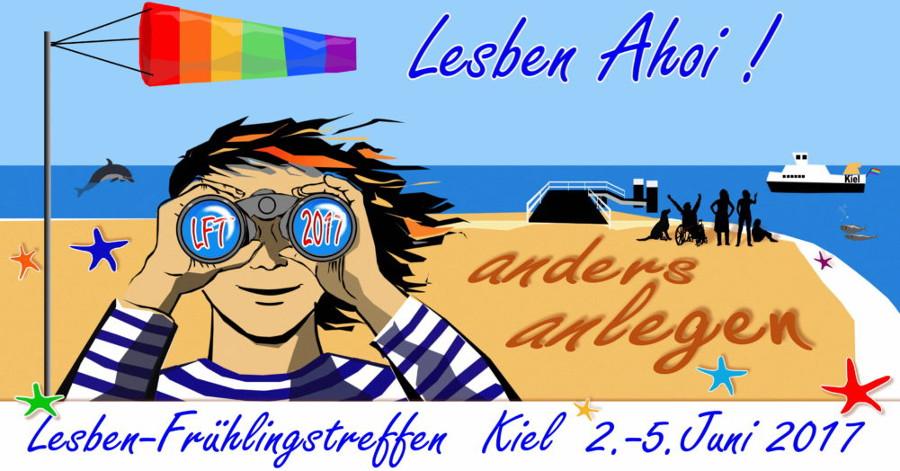 Lesbenfrühlingstreffen 2017, lesbisch, Lesben in Kiel