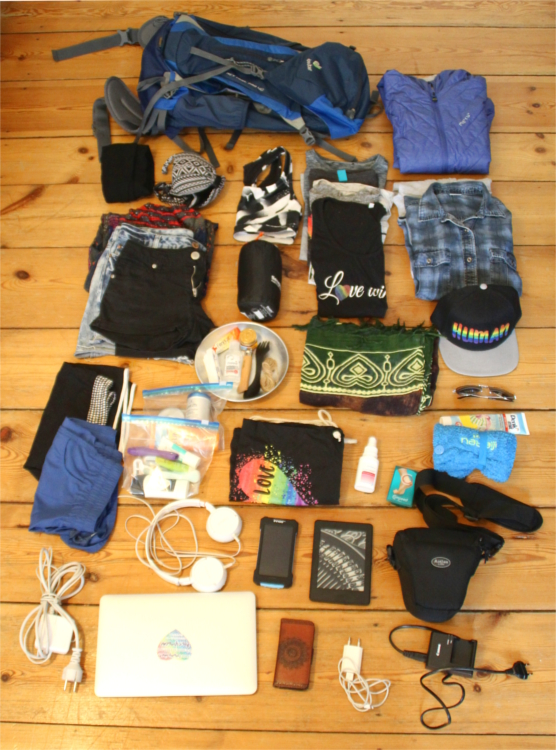 Minimalistische backpacker packliste f r queere reisende for Minimalistisch reisen