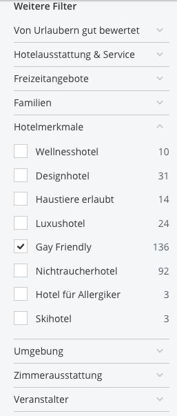 Gay friendly Hotels, Rainbowfeelings, Lesben Hotels, Lesben Urlaub