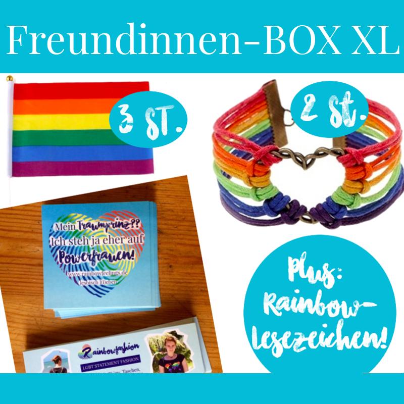 Lesbische Pride Box, rainbowfeelings, lesbisch, lesbisch lieben, Pride, CSD, Christopher street day